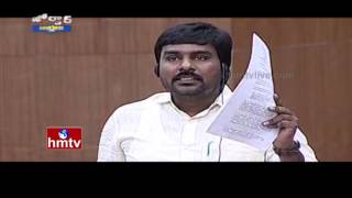 Satyavedu MLA Talari Adithya Speech in AP Assembly | Jordar News