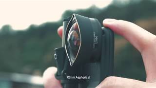 World's First 12mm Ultra Wide Aspherical Lens For Mobile