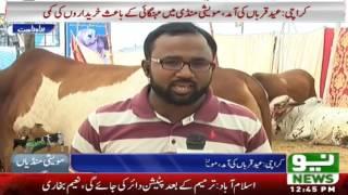 Lahore Eid Qareeb Atay He Mandio Main Rush | Eid Ul Azha 2016