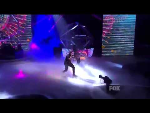 Tinie Tempah - X Factor USA Live  - Simply Electrifying!! - Pass Out
