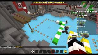 "Minecraft ""SAVE SANTA"" Christmas Chaos Mini Game"