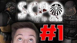 WRÓCIŁEM DO PLACÓWKI! | SCP Nine Tailed Fox Mod #1