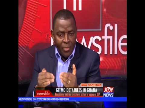 GITMO  detainees in Ghana - Newsfile on Joy News (9-1-16)