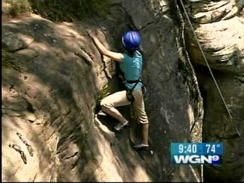Guided Rock Climbing, Southern Illinois