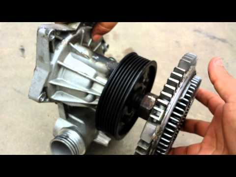 Bmw fan clutch removal 740 540i 525i 530i 330ci 325i e36 e38 e39 e36