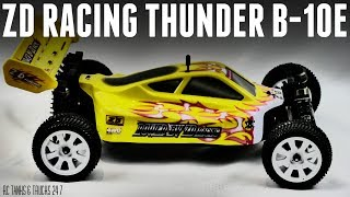 ZD RACING Thunder B-10E 4WD Brushless 1/10 Buggy - Unboxing & In-Depth Look