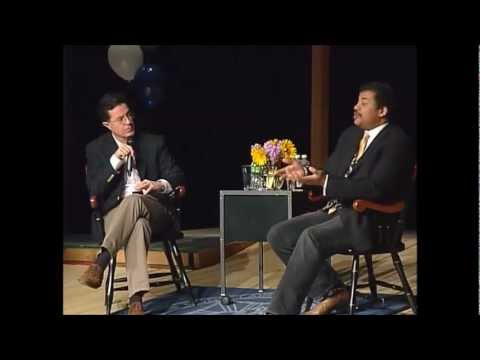 Stephen Colbert Interviews Neil deGrasse Tyson A discussion on Science, Society, and the Universe