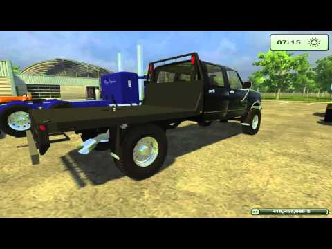 Farming Simulator 2013 American Semi's. Trucks. and Lowboy