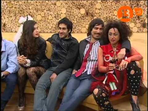 "Gloria Trevi visitó ""Pareja Perfecta"" (Reality Show de Canal 13 Chile)"