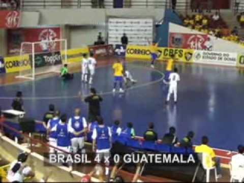 Brasil VS Guatemala - Grand Prix de Futsal