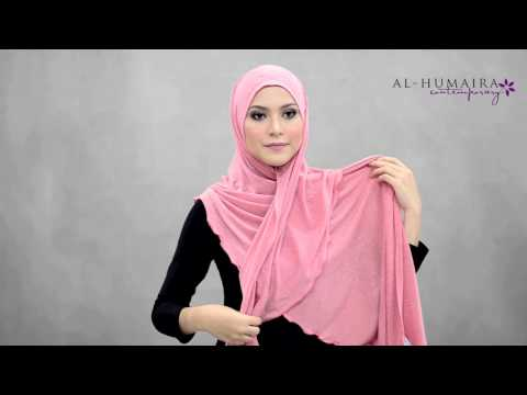 ROXANE shawl styling tutorial by Al-Humaira Contemporary Music Videos