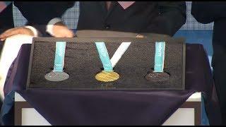 В Сеуле представили медали Олимпиады-2018