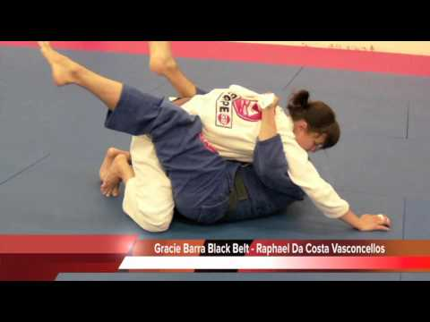 BJJ Video -Closed Guard Lapel Sweep to Arm Bar with Raphael Da Costa Vasconcellos Image 1