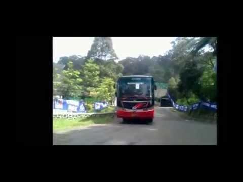 Perpisahan Kelas 9 SMPN 06 Bekasi - Exit Tangkuban Perahu   5 Bus Bhineka
