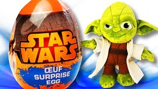 Star Wars Surprise Eggs Unboxing wiht Toys for Childrens Kids Babies