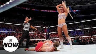 Charlotte Flair snaps in sadistic attack on Ronda Rousey: WWE Now