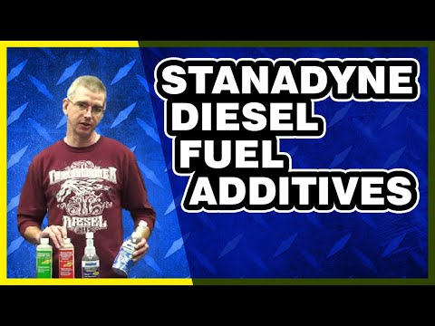 Stanadyne Diesel Fuel Additive Overview