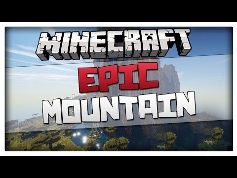 Minecraft 1.7.10 BEST MOUNTAIN SEED EVER! THE MOST EPIC MOUNTAIN IN 1.7.10