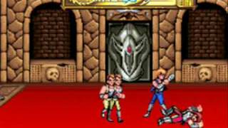 Double Dragon arcade game on co-op mode