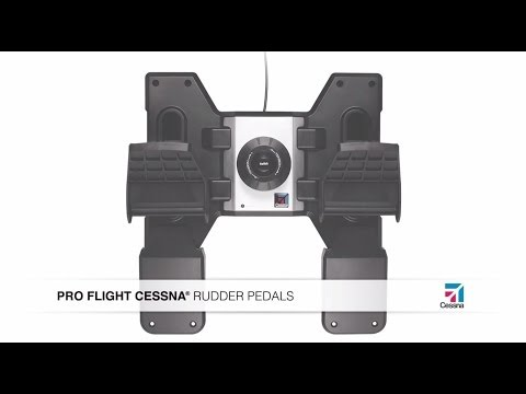 Cessna Pro Flight Rudder Pedals