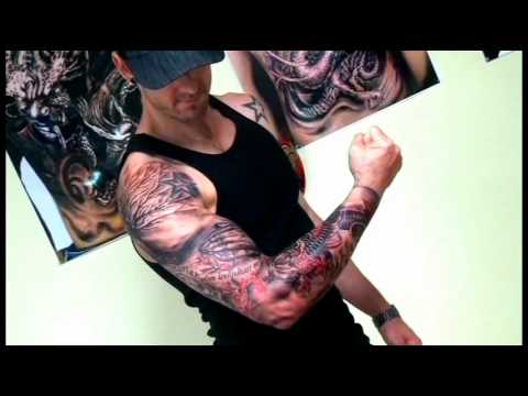 FULL SLEEVE TATTOO.wmv