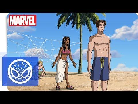 Der ultimative Spider-Man - Am Strand   Marvel HQ Deutschland