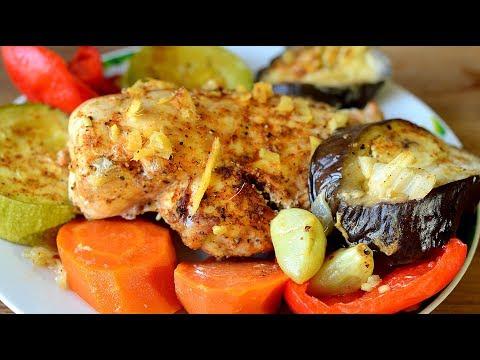 Как запечь куриную грудку вкусно и полезно