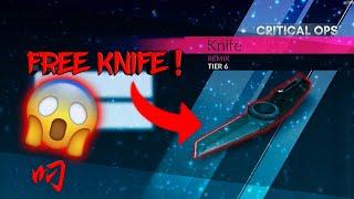Best Way To Unlock Knife Inn Critical Ops 2018 (100% Working) 0.9.12.f220 | iM Mayank