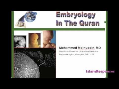 Embryology in the Quran-an amazing lecture for haters and islambashers