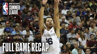 SUNS vs GRIZZLIES | Tyler Harvey Scores 19, MEM Improves To 3-0 | MGM Resorts NBA Summer League