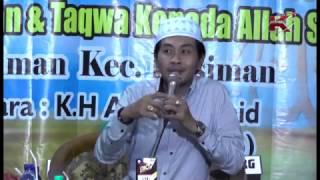 Ceramah KH Anwar Zahid - Desa Kasiman Bojonegoro 14 Februari 2017 - Part 1