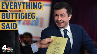 Everything Mayor Pete Buttigieg Said at the Las Vegas Democratic Debate | NBC New York