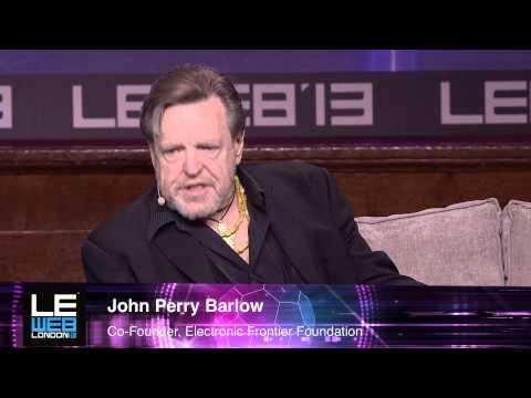John Perry Barlow - Electronic Frontier Foundation - LeWeb London 2013