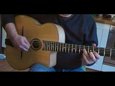 Gypsy Jazz Guitar Exercise/Practice - With Tab