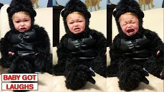 100 Funny Halloween Babies   Cute Baby Compilation
