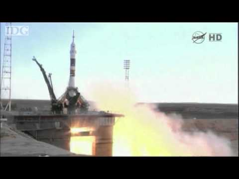 Soyuz TMA-05M lifts off to ISS