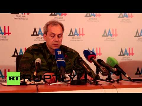 Ukraine: DPR accuses Ukraine's army of friendly fire and Mariupol shelling