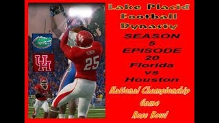 Season 5 EP 20 National Championship 1 Houston vs 2 Florida