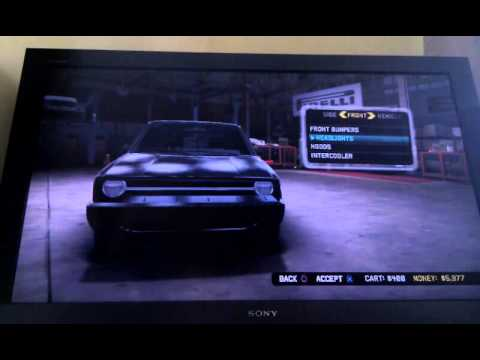 Midnight club los Angeles cheat ( money )