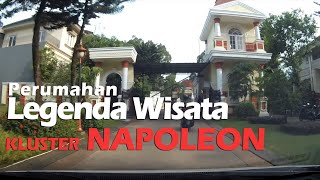 Tour ke Cluster Napoleon di Perumahan Legenda Wisata Cibubur