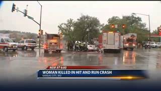 Woman dies in Kansas City hit and run accident