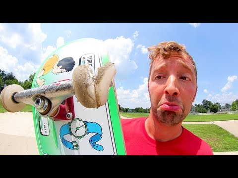 The WORST Skateboard Wheels Ever! (Lasted 5 seconds!!)