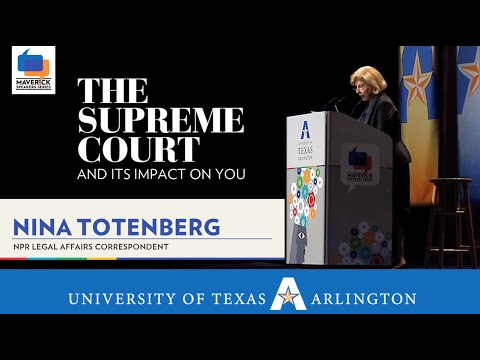 Maverick Speakers Series - Nina Totenberg