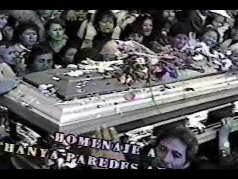 Velorio y entierro Tania Paredes Aymara