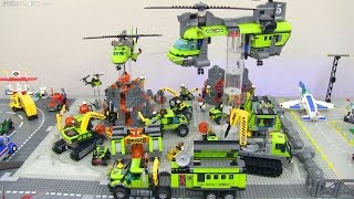 All LEGO City 2016 Volcano sets on display!