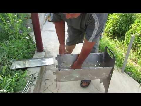 Сделать мангал без сварки