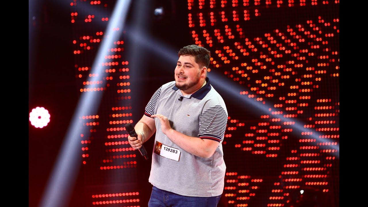 Bosquito - Când eram băiat acasă. Vezi aici cum cântă Laurenţiu Drăghici, la X Factor!