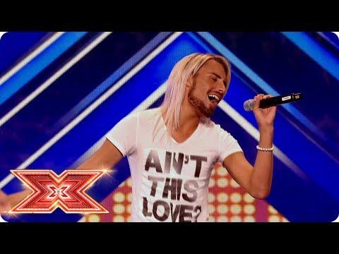 Rylan Clark's Unforgettable Audition   The X Factor UK
