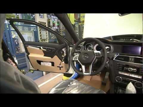 Mercedes Benz C Class Production Sindelfingen Footage
