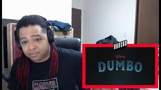 Dumbo Official Teaser Trailer - REACTION